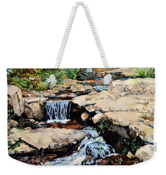 Susquehanna Falls Weekender Tote Bag