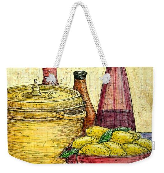 Sustenance Weekender Tote Bag