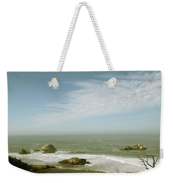 Sutro Baths San Francisco Weekender Tote Bag