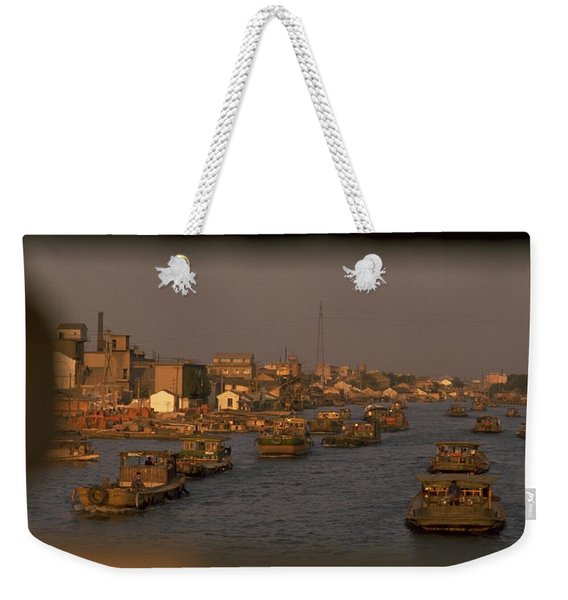 Suzhou Grand Canal Weekender Tote Bag