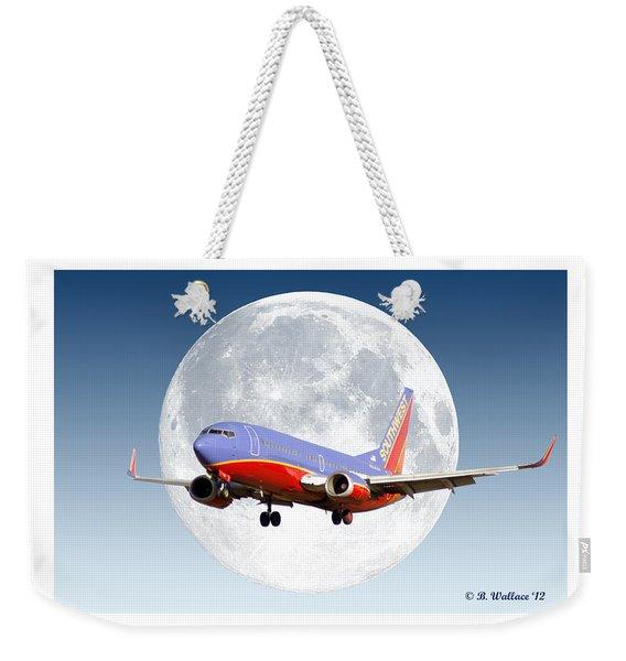 Sw Moon Weekender Tote Bag