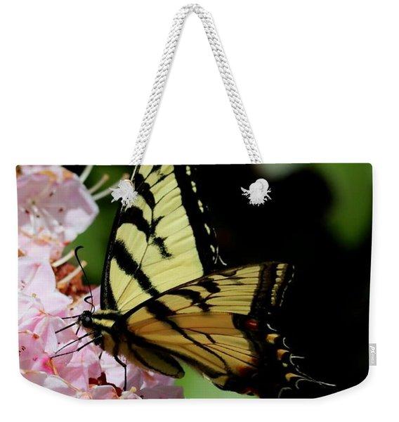 Swallow Tail On Mountain Laurel Weekender Tote Bag