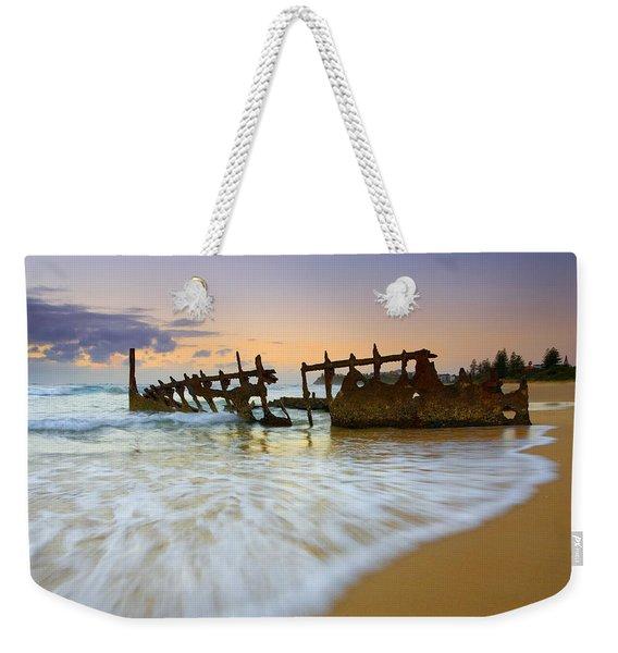 Swallowed By The Tides Weekender Tote Bag