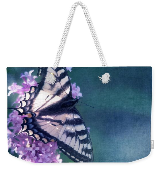 Swallowtail And Lilac Weekender Tote Bag