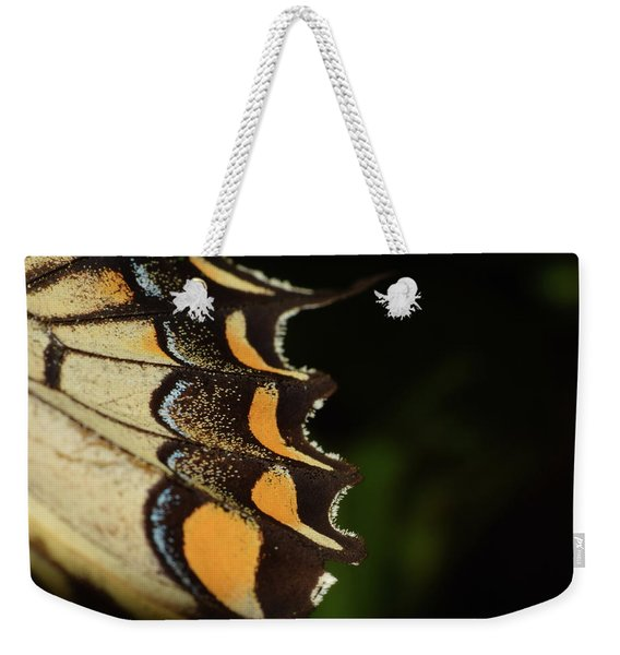 Swallowtail Butterfly Wing Weekender Tote Bag