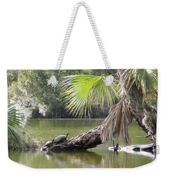 Swamp Life Weekender Tote Bag