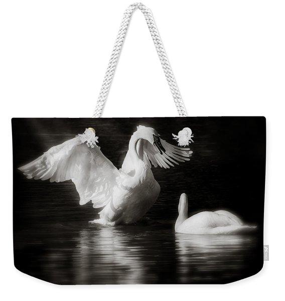 Swan Display Weekender Tote Bag