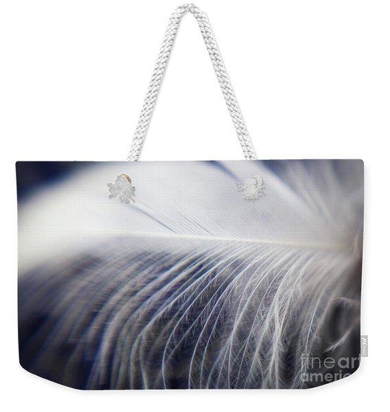 Swan Down Weekender Tote Bag