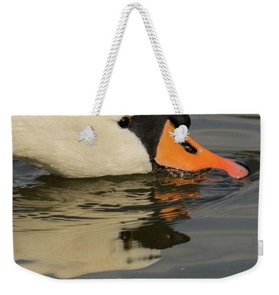 Swan Head  Weekender Tote Bag