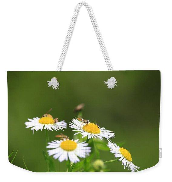 Sweat Bee Weekender Tote Bag