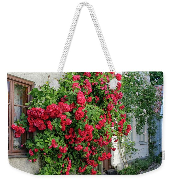Swedish Town Visby, Famous For Its Roses Weekender Tote Bag