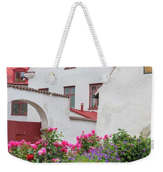 Swedish Town Visby Weekender Tote Bag