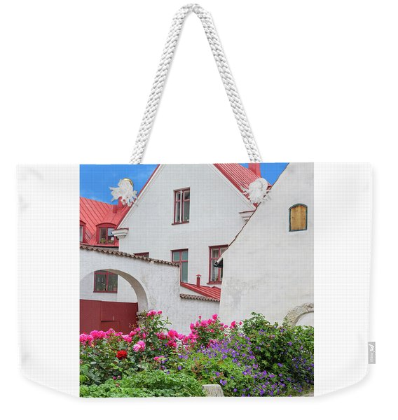 Swedish Town Visby Weekender Tote Bag