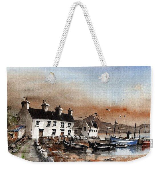 Sweeney,s Pier, Coraun, Mayo.. X116 Weekender Tote Bag