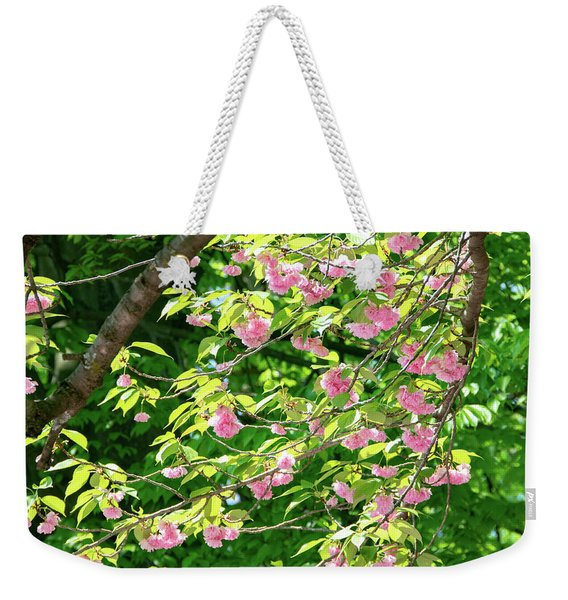 Sweeping Cherry Blossom Branches Weekender Tote Bag