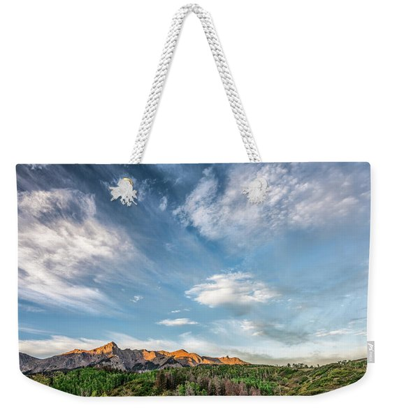 Sweeping Clouds Weekender Tote Bag