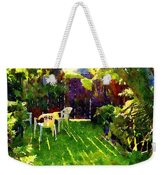 Sweet Afternoon Weekender Tote Bag
