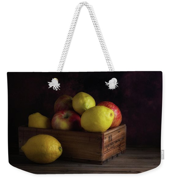 Sweet And Sour Fruits Still Life Weekender Tote Bag