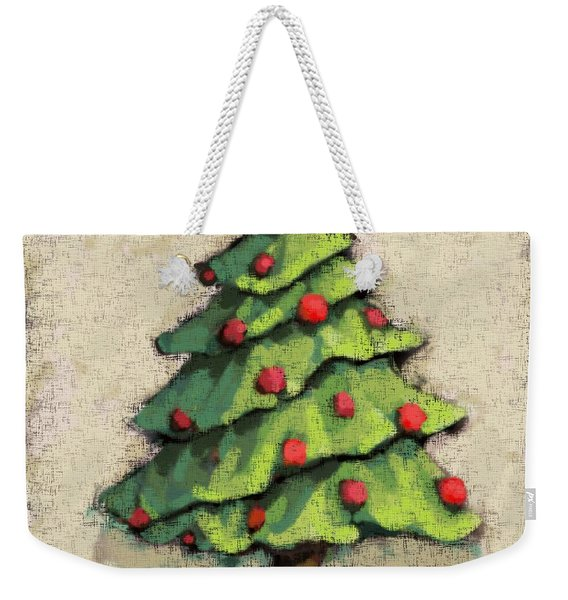 Sweet Christmas Tree Weekender Tote Bag
