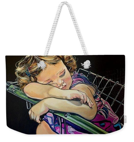 Sweet Dreams, Geo Weekender Tote Bag