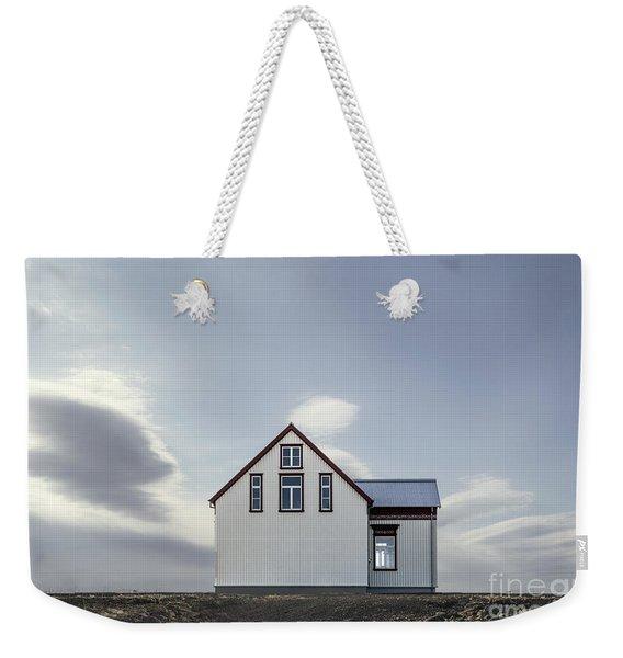 Sweet House Under A White Cloud Weekender Tote Bag
