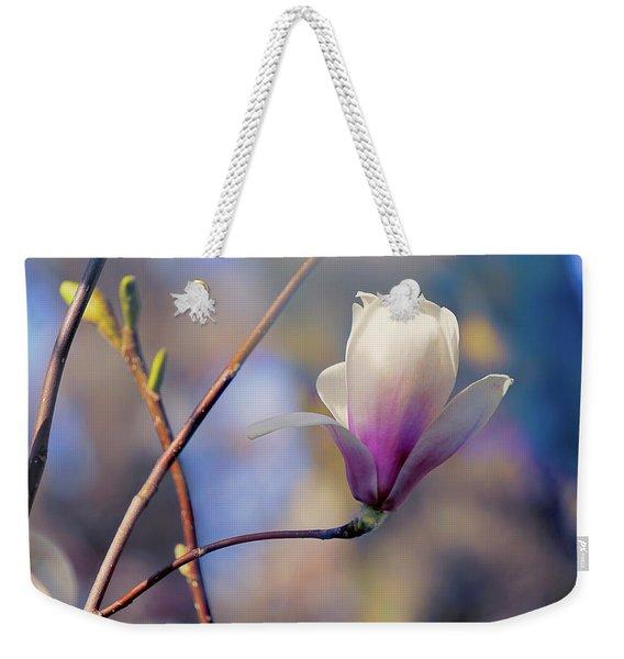 Sweet Magnolia Weekender Tote Bag