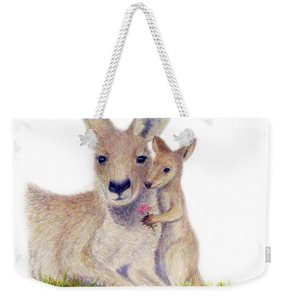 Kind Weekender Tote Bag