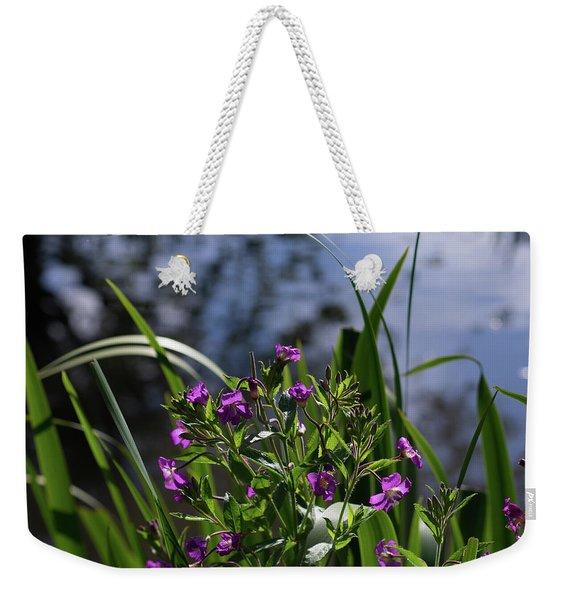 Sweet Violet Weekender Tote Bag