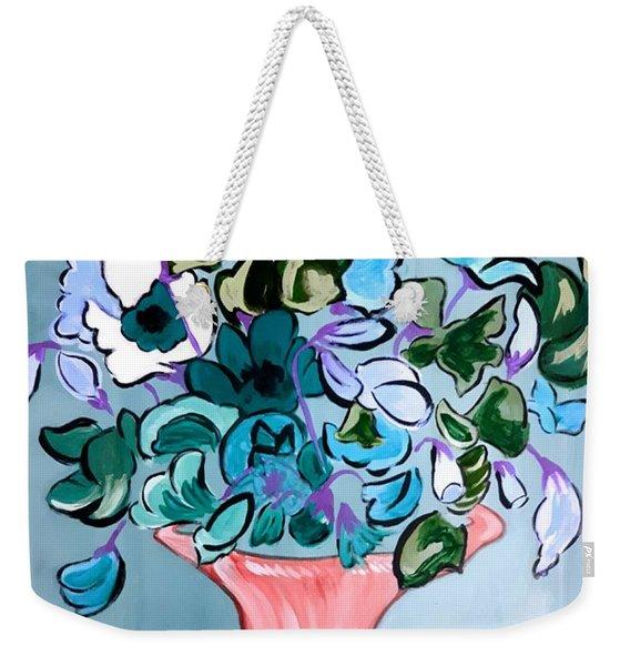 Sweetpeas Weekender Tote Bag