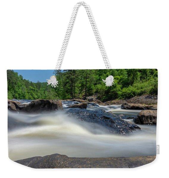 Sweetwater Creek Long Exposure Weekender Tote Bag