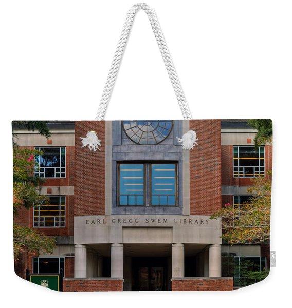 Swem Library Weekender Tote Bag