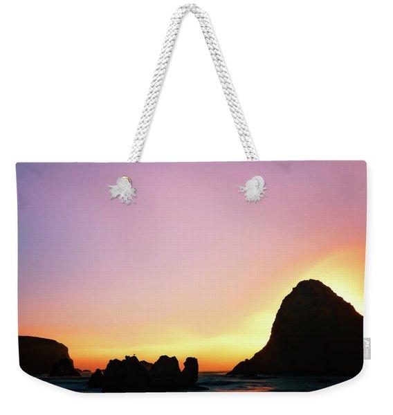 Swept Away Beach Image Art Weekender Tote Bag