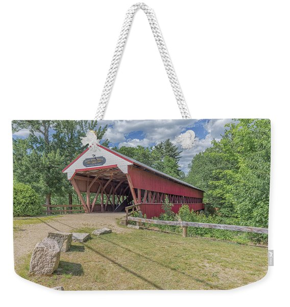 Swift River Covered Bridge Conway New Hampshire Weekender Tote Bag