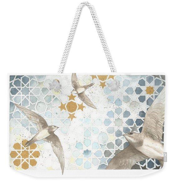 Swifts Of Cihangir Weekender Tote Bag
