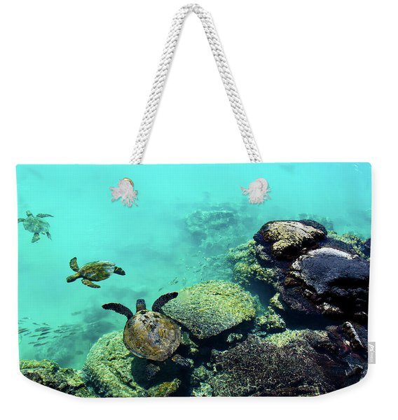 Swimming Honu Weekender Tote Bag