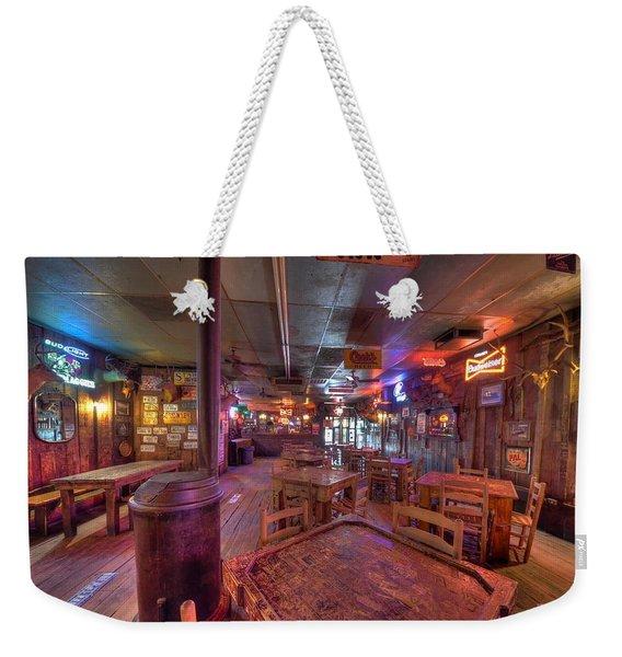 Swinging Doors At The Dixie Chicken Weekender Tote Bag