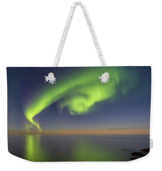 Swirl Weekender Tote Bag