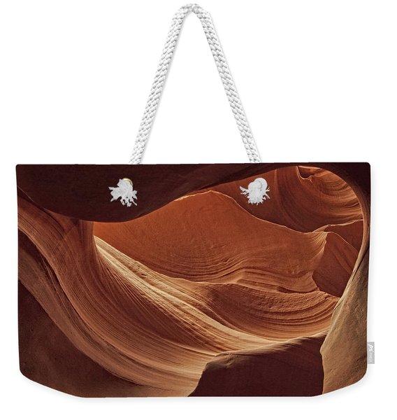 Swirled Rocks Dist Weekender Tote Bag