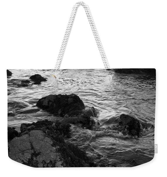Swirling Tide Weekender Tote Bag