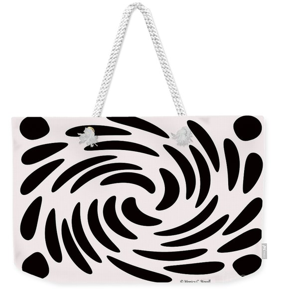Swirls N Dots 56 Weekender Tote Bag