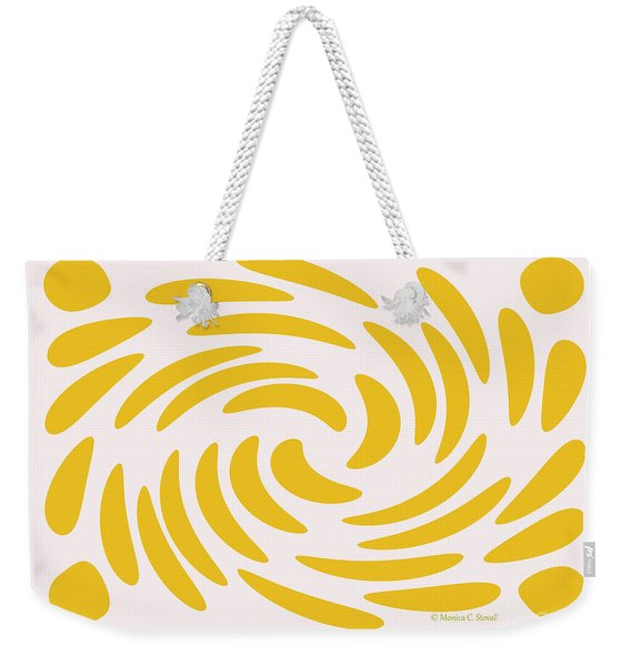 Swirls N Dots S3 Weekender Tote Bag