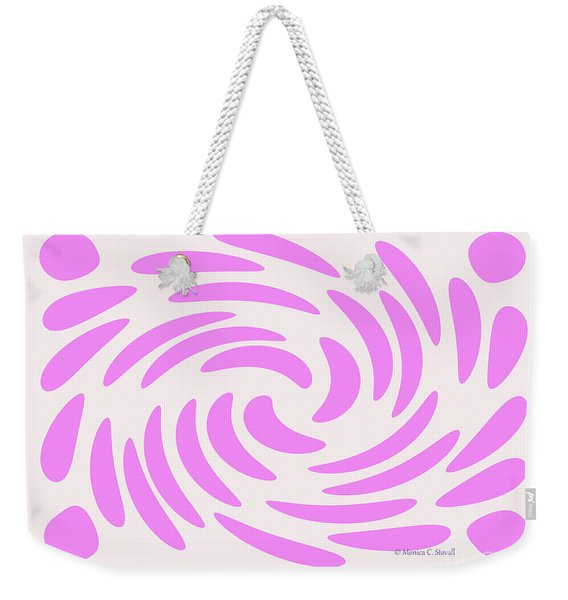 Swirls N Dots S4 Weekender Tote Bag