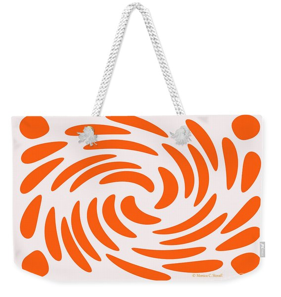 Swirls N Dots S5 Weekender Tote Bag