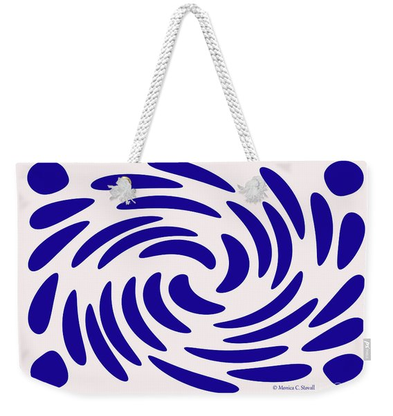 Swirls N Dots S7 Weekender Tote Bag