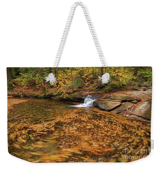 Swirls Weekender Tote Bag