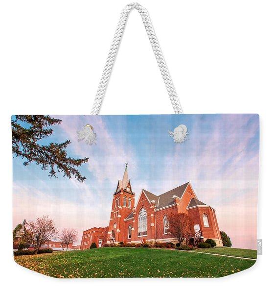 Swiss Church Weekender Tote Bag