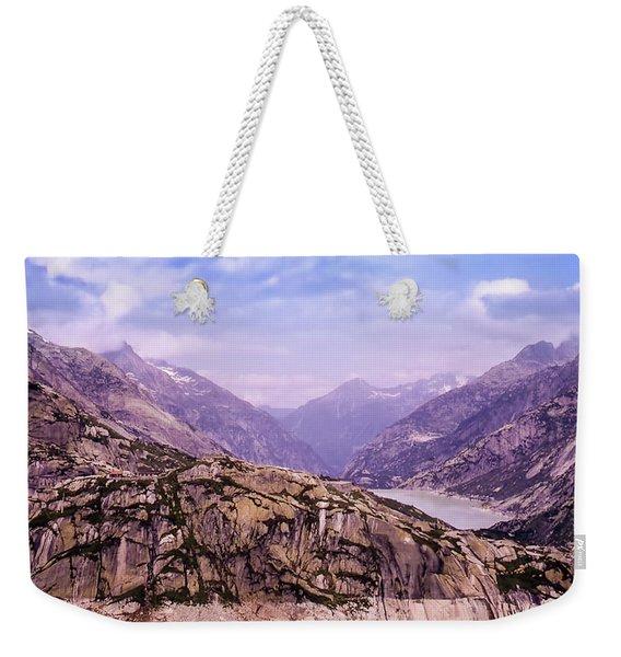Swiss Mountains Weekender Tote Bag