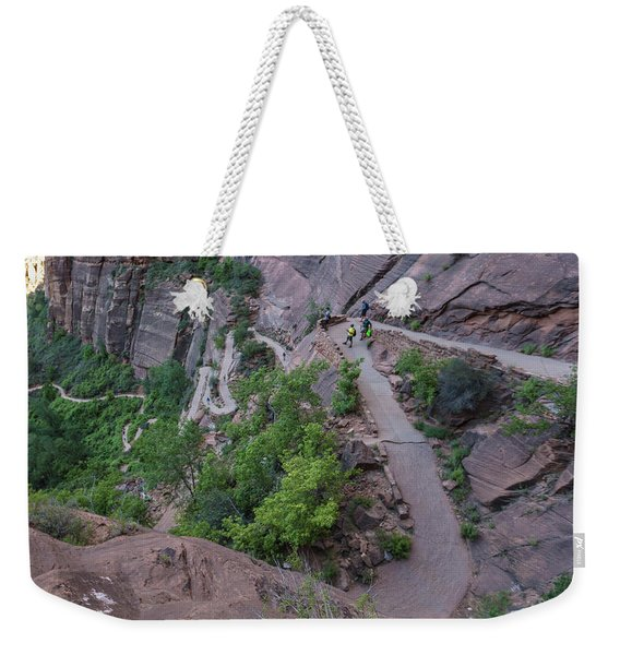 Switch Backs Zion National Park Weekender Tote Bag