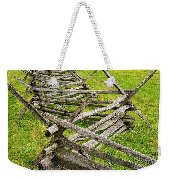 Switchback Weekender Tote Bag