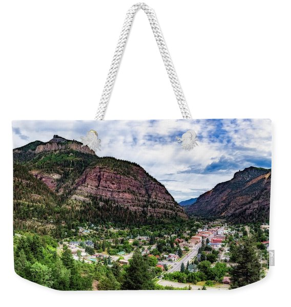 Switzerland Of America Weekender Tote Bag